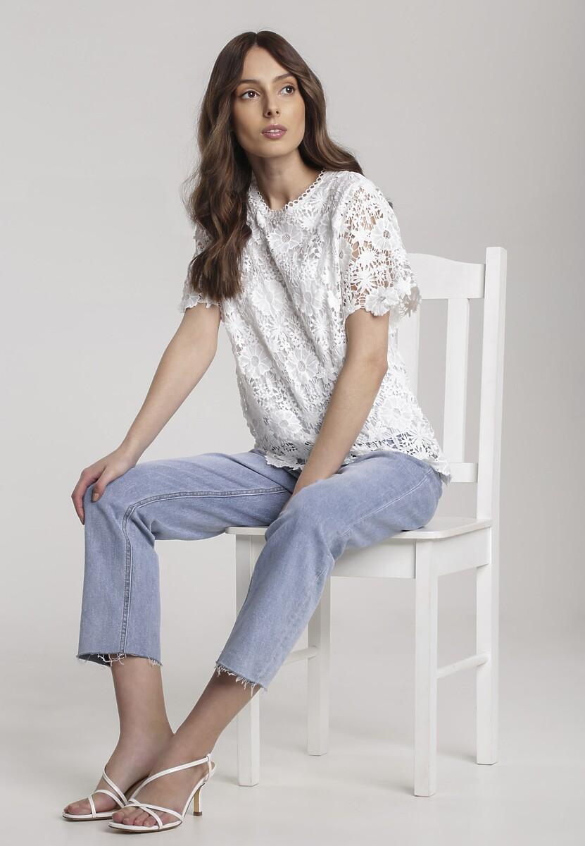 Biała Bluzka Noelea