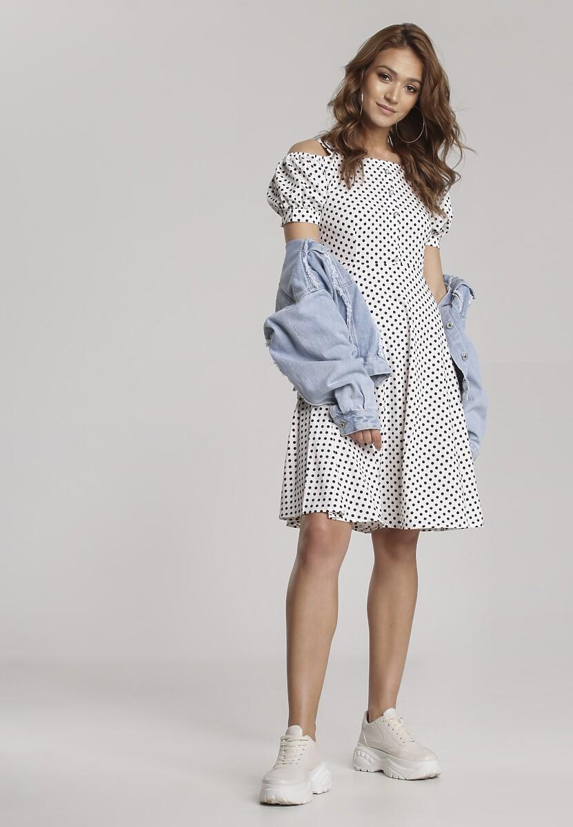 Biała Sukienka Ialea