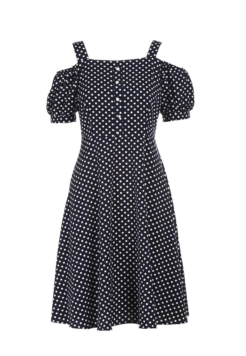Granatowa Sukienka Ialea