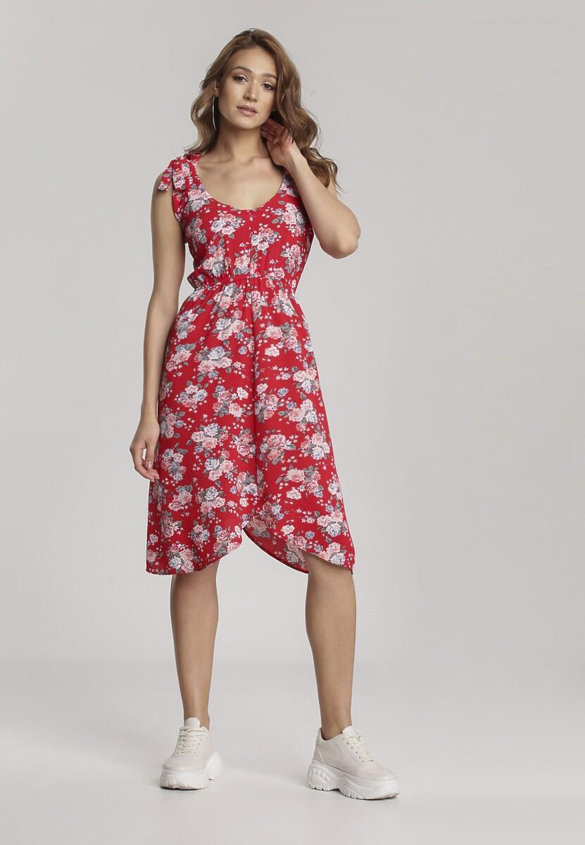 Czerwona Sukienka Boligea