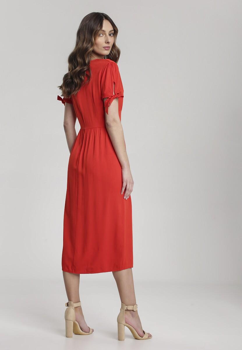 Czerwona Sukienka Merephis