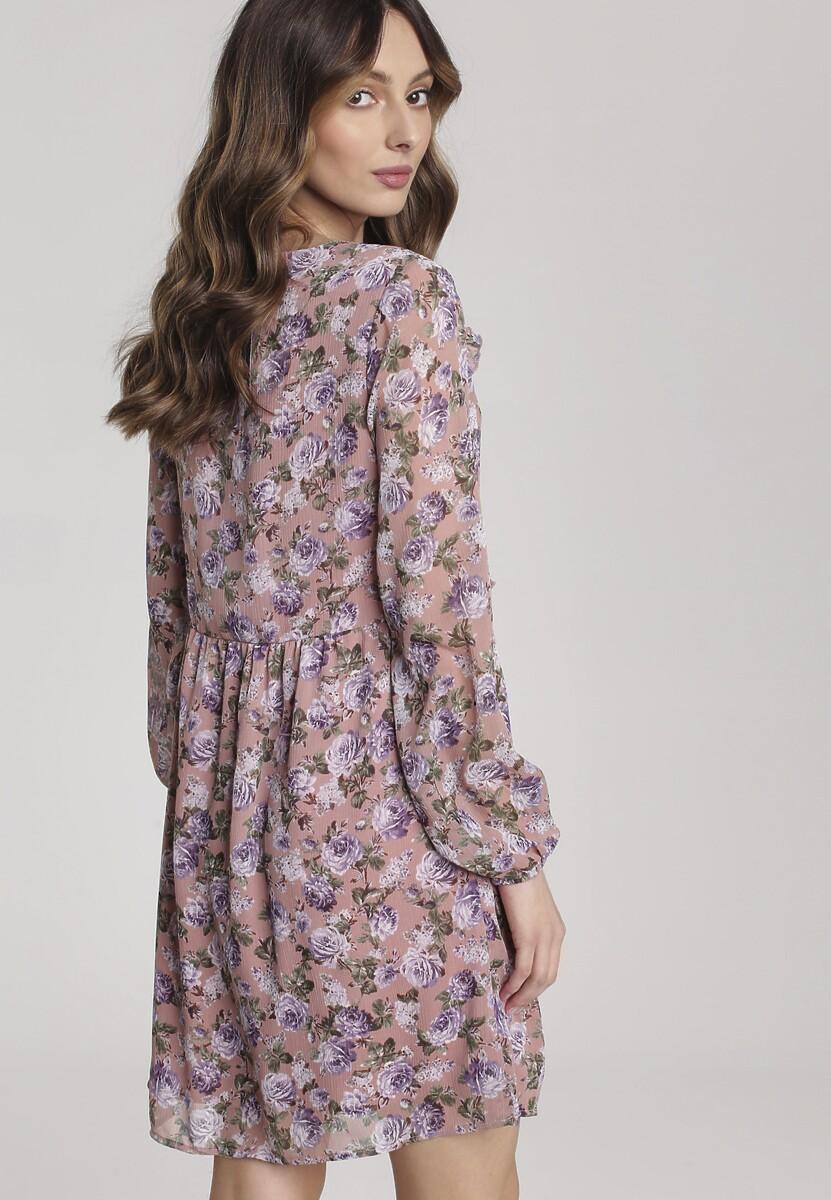 Różowa Sukienka Synalinai