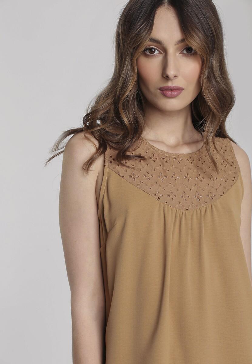 Brązowa Sukienka Iletheis