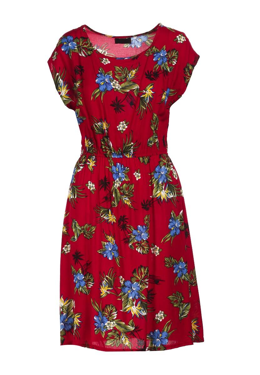 Czerwona Sukienka Thalanoe