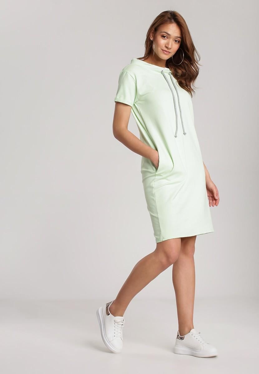 Limonkowa Sukienka Physaphite