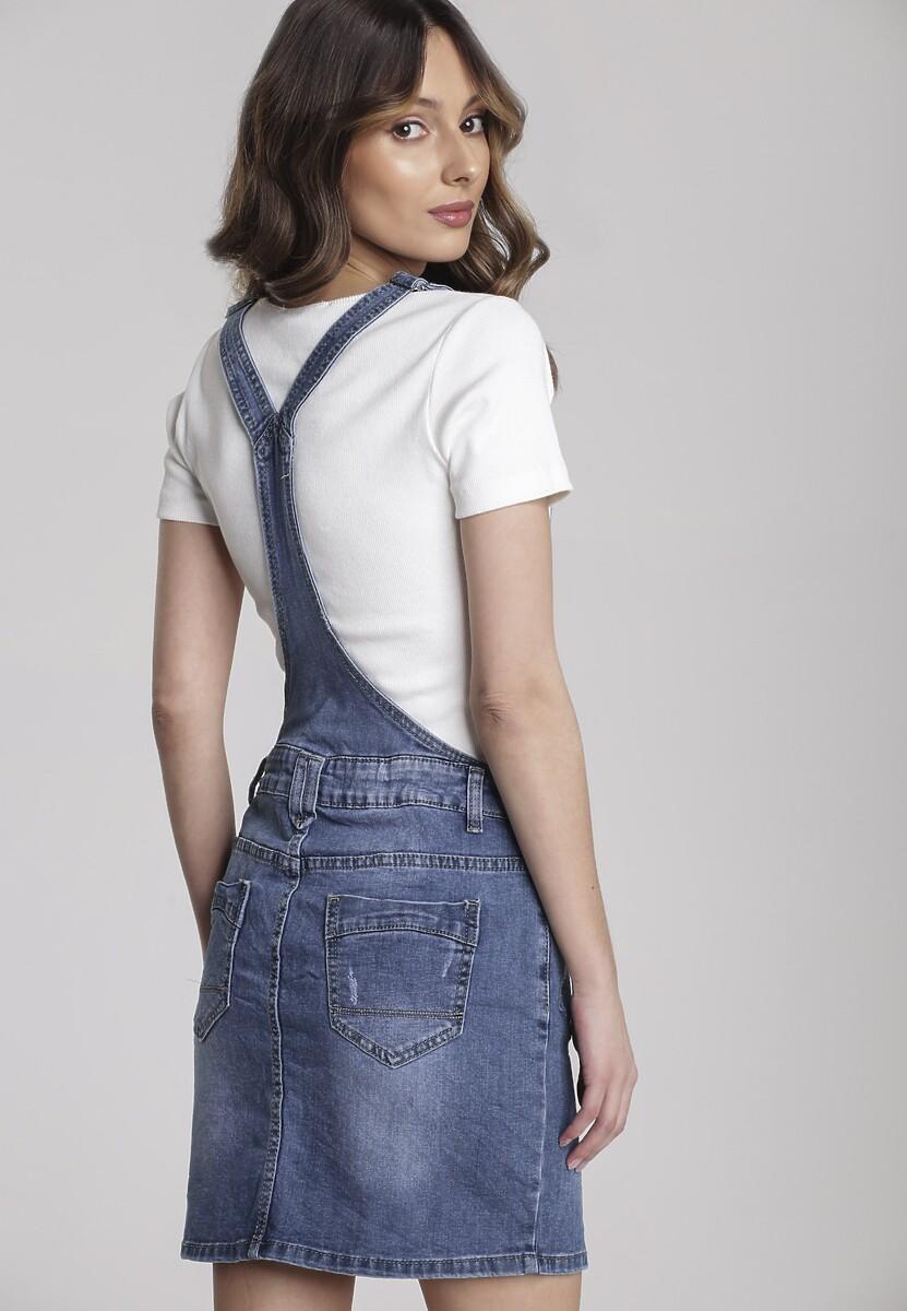Niebieska Spódnica Vivisea