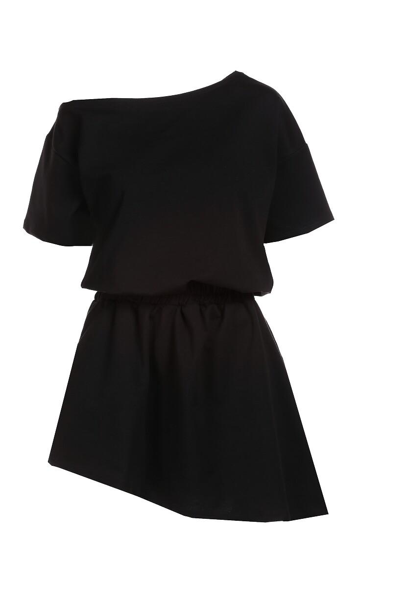 Czarna Sukienka Doviane