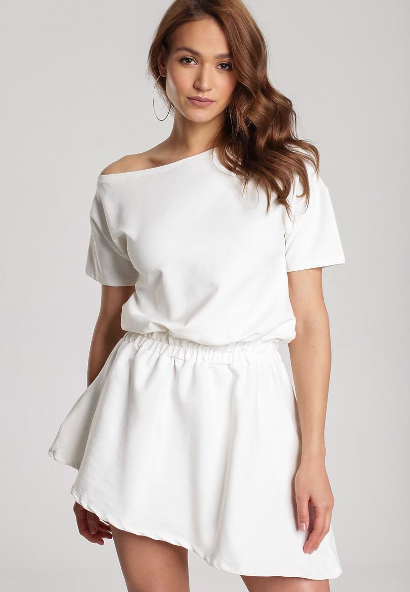 Kremowa Sukienka Doviane