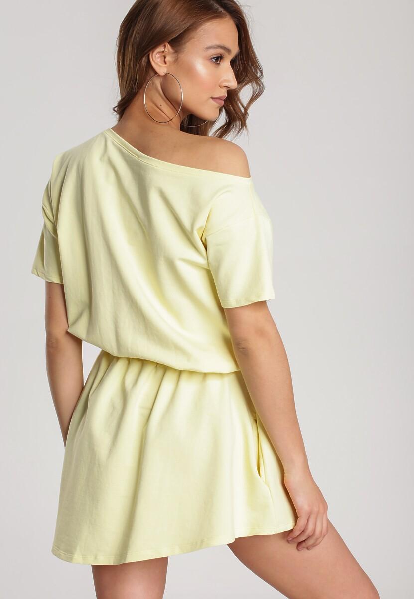 Żółta Sukienka Doviane