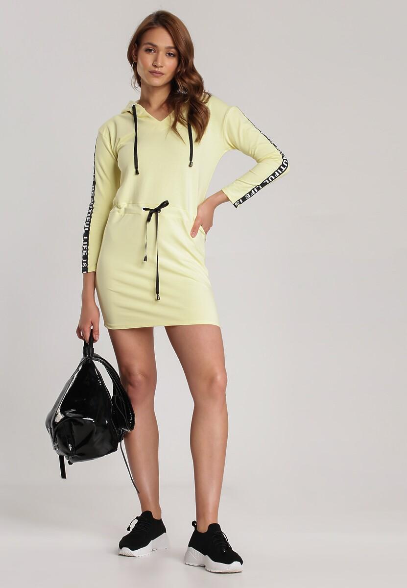 Żółta Sukienka Avalody