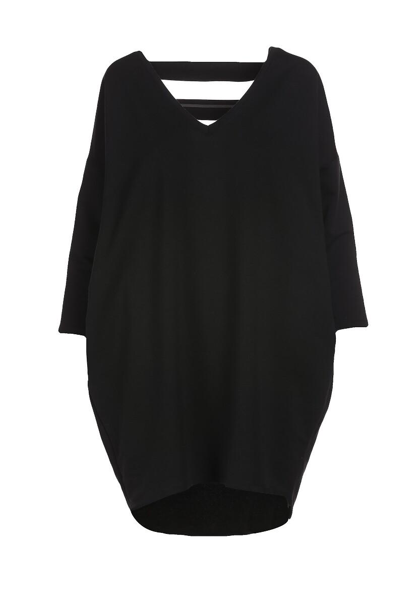 Czarna Sukienka Rhaegale