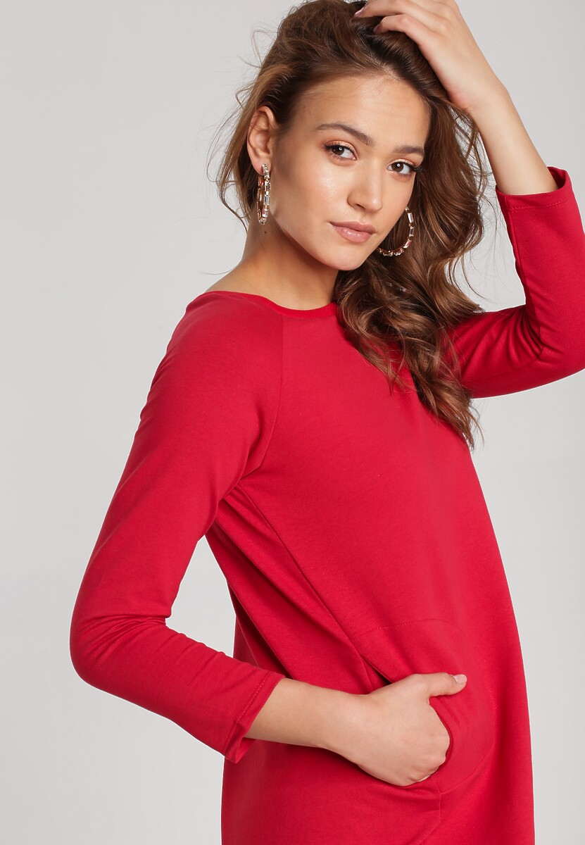 Czerwona Sukienka Boliliphis