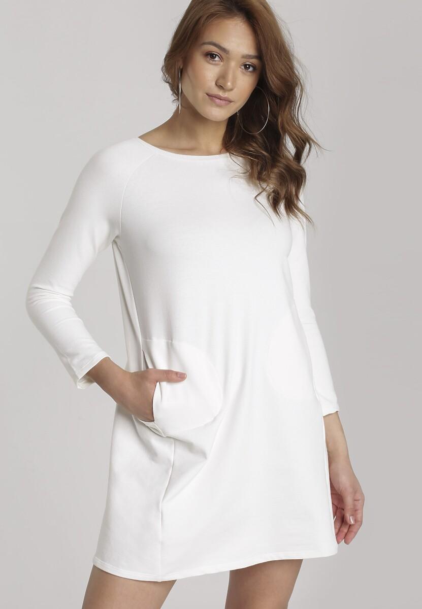 Kremowa Sukienka Boliliphis