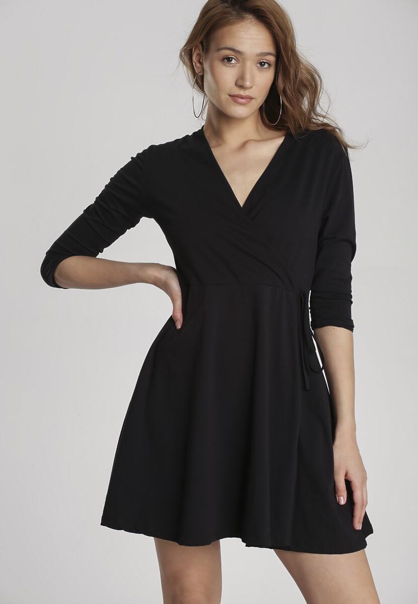 Czarna Sukienka Ilelea