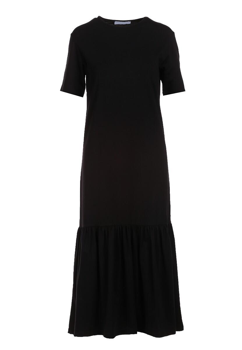 Czarna Sukienka Dorynele