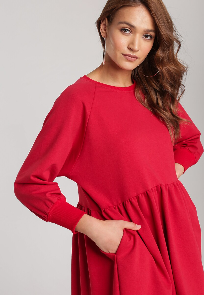 Czerwona Sukienka Thessanna