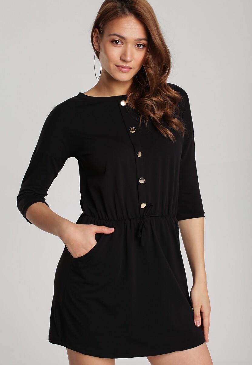 Czarna Sukienka Allulena