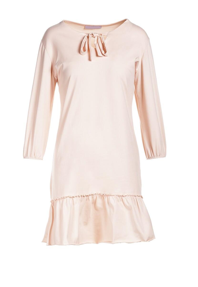 Jasnoróżowa Sukienka Mereriena