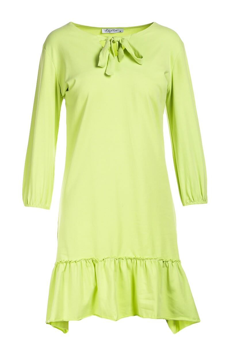 Limonkowa Sukienka Mererien