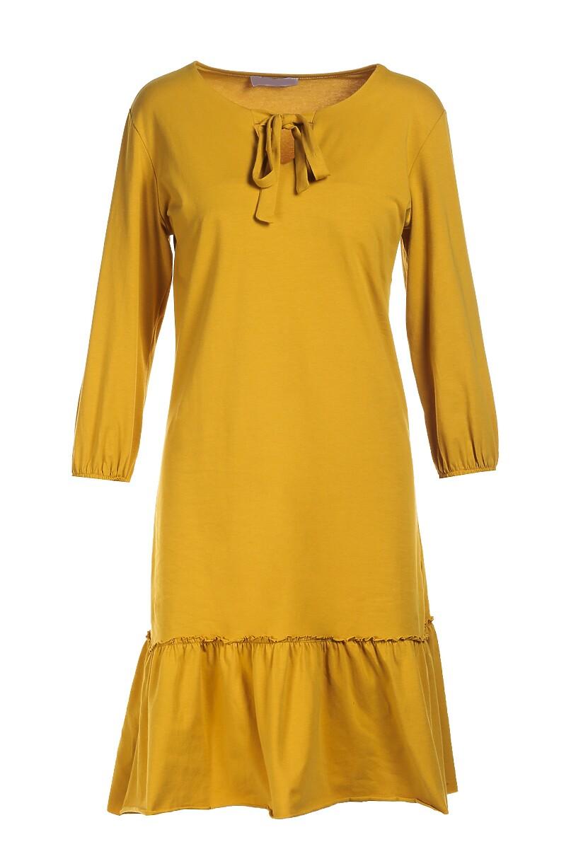 Żółta Sukienka Mereriena