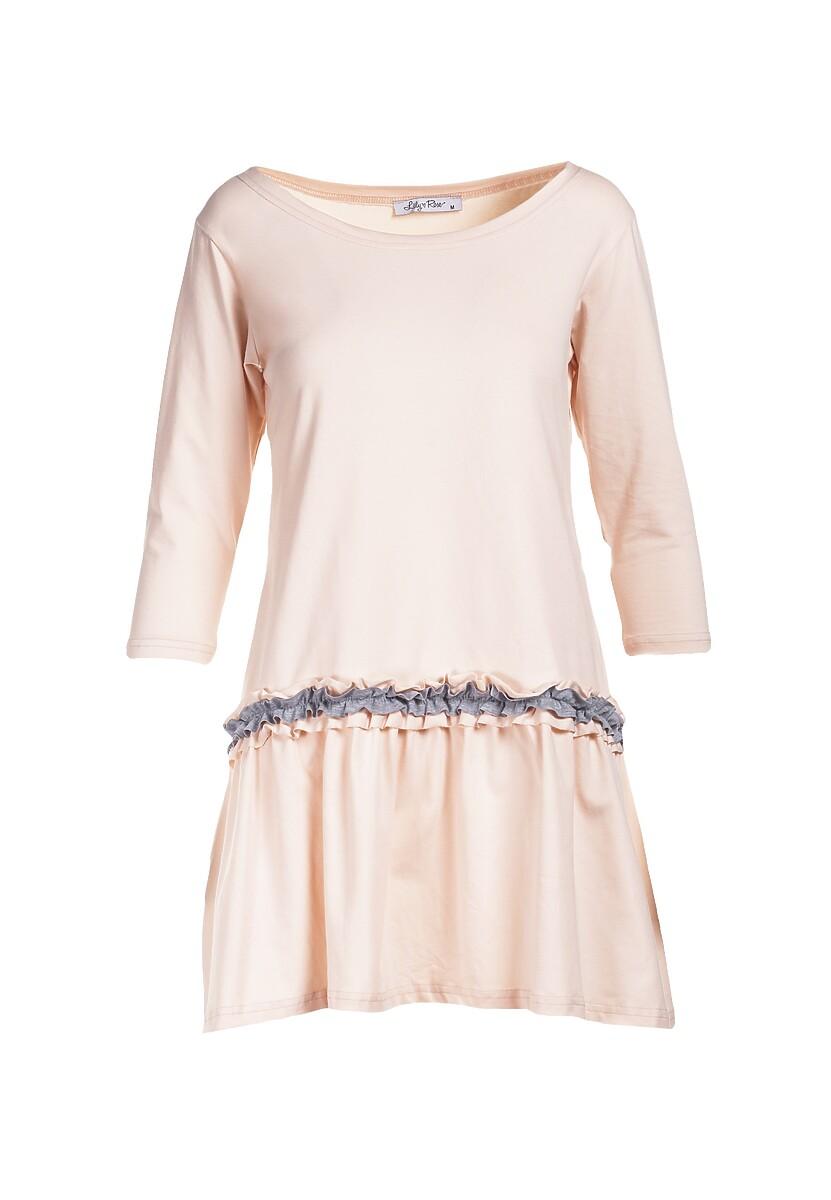 Jasnoróżowa Sukienka Palathyia