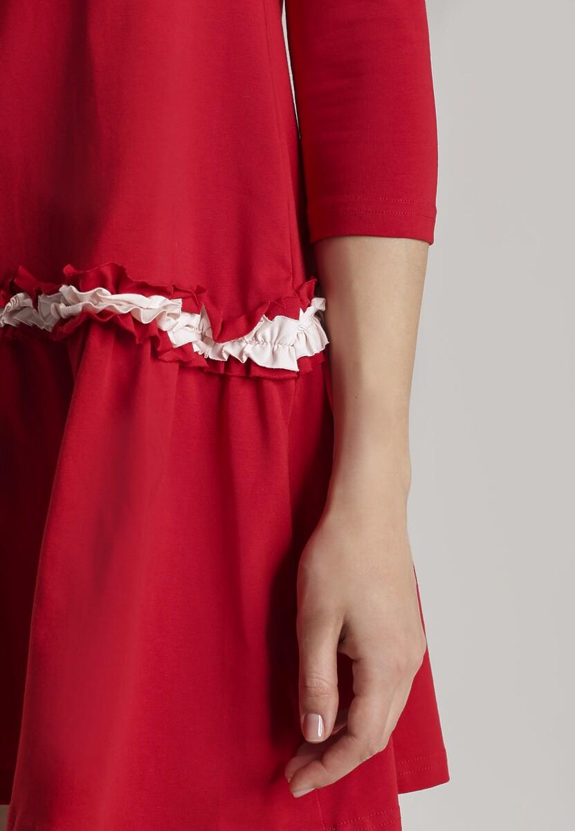 Czerwona Sukienka Palathyia