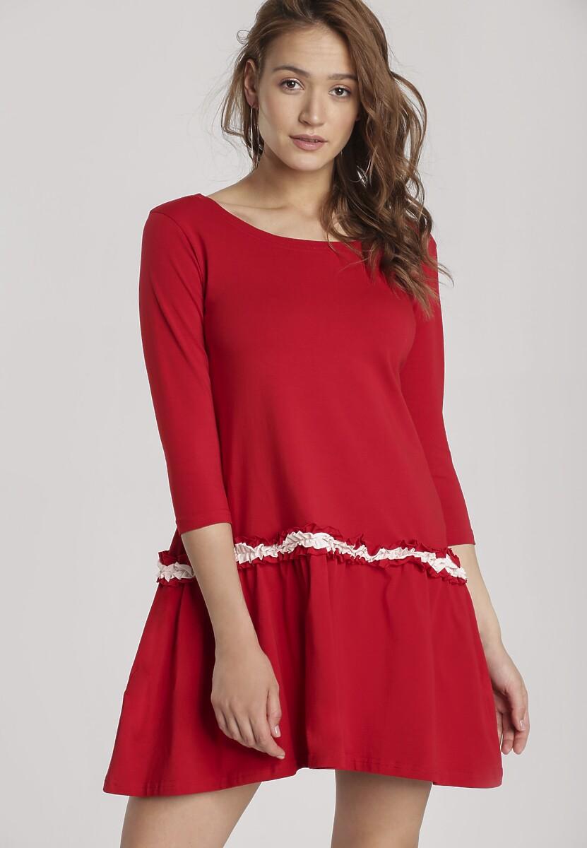 Czerwona Sukienka Palathyia Kod produktu: 120947