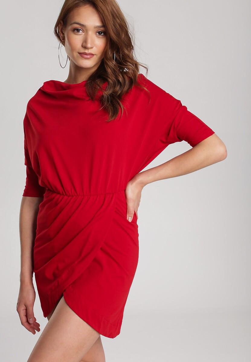 Czerwona Sukienka Aquaneh