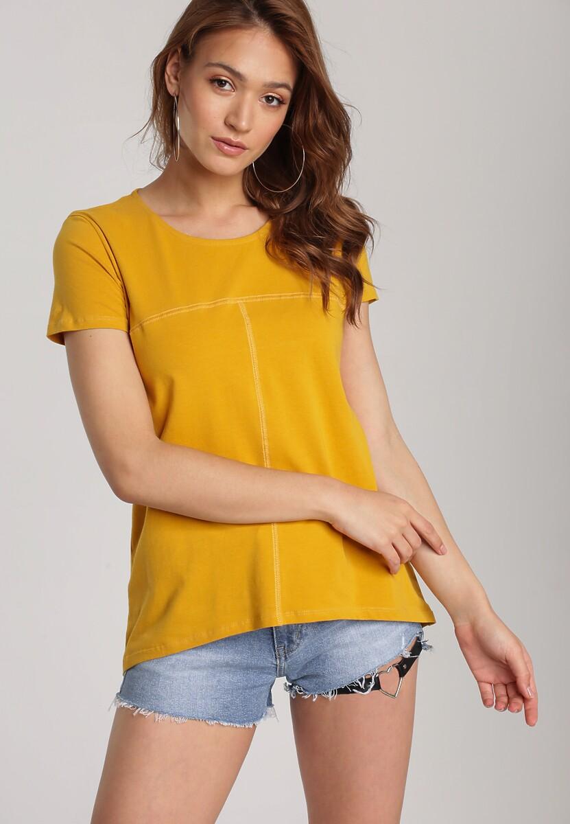 Żółty T-shirt Lorerene