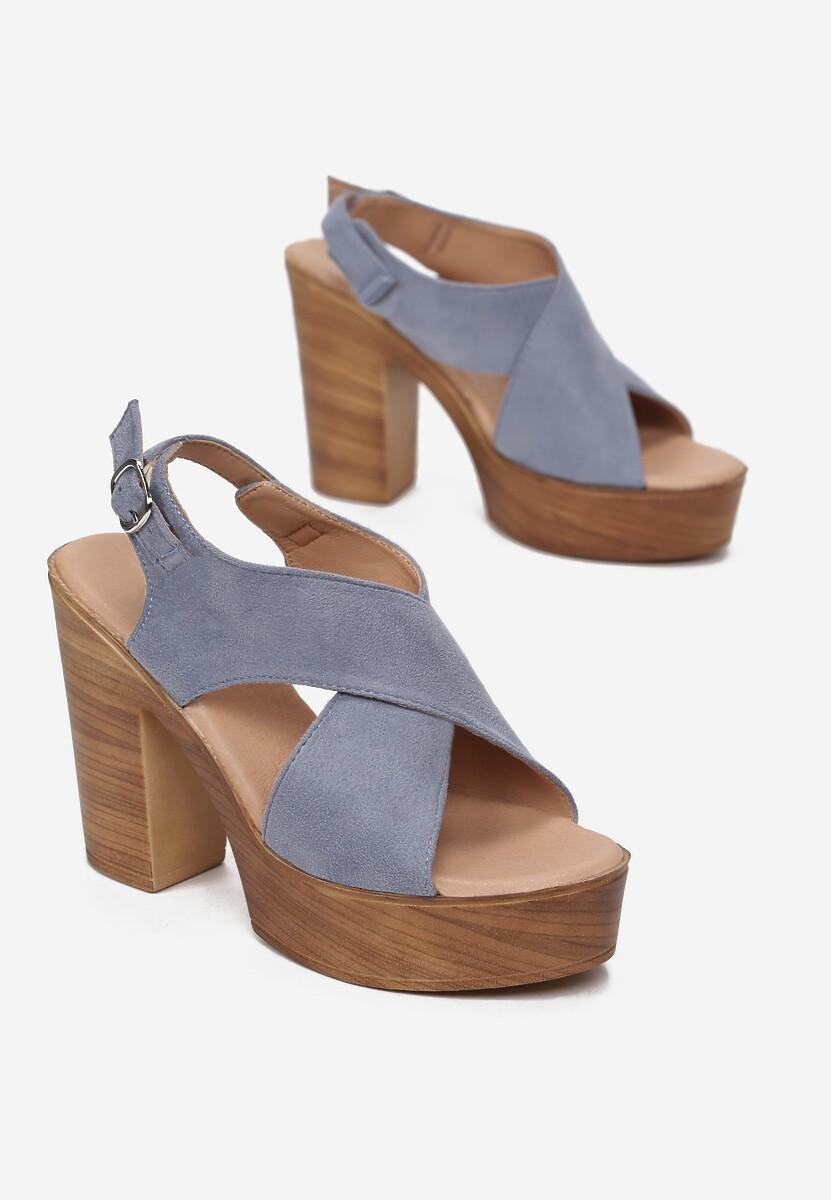 Niebieskie Sandały Nephemeia