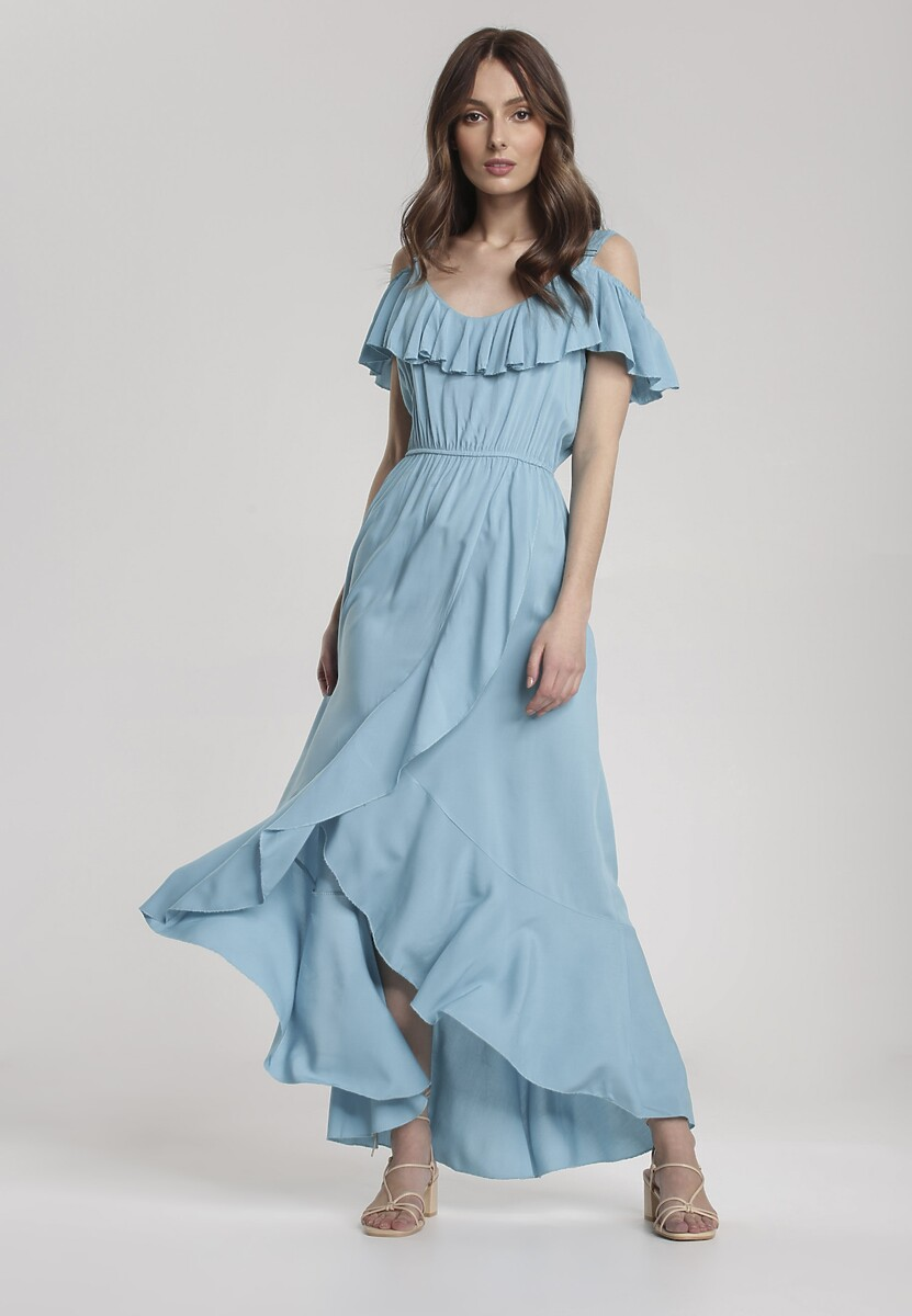 Jasnoniebieska Sukienka Chelgana