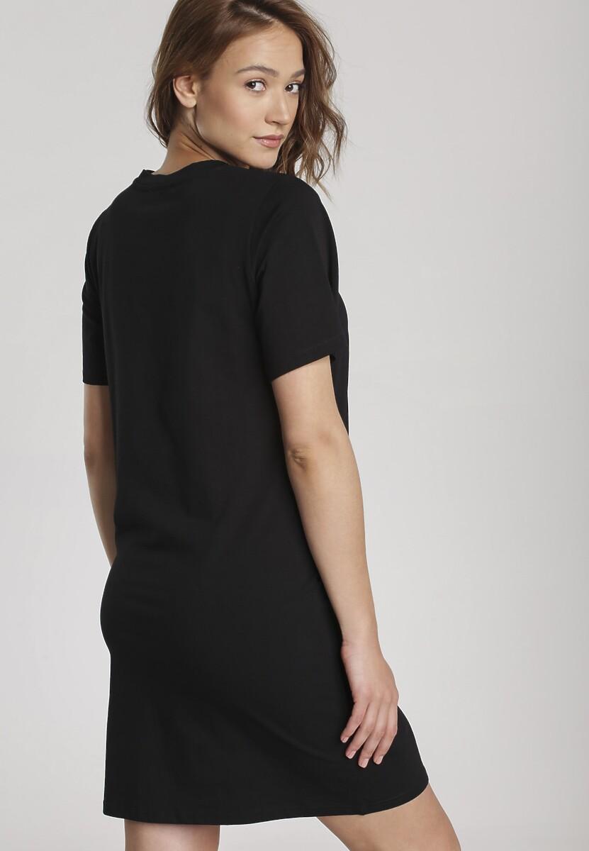 Czarna Sukienka Hailiria