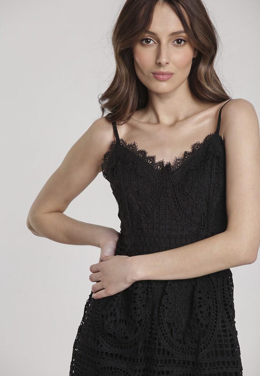 Czarna Sukienka Assalin