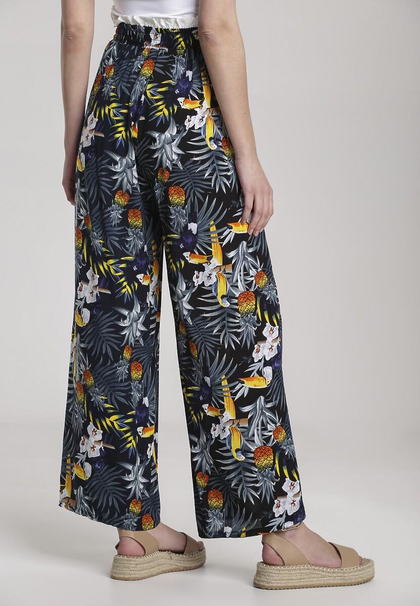 Granatowe Spodnie Rhaethea