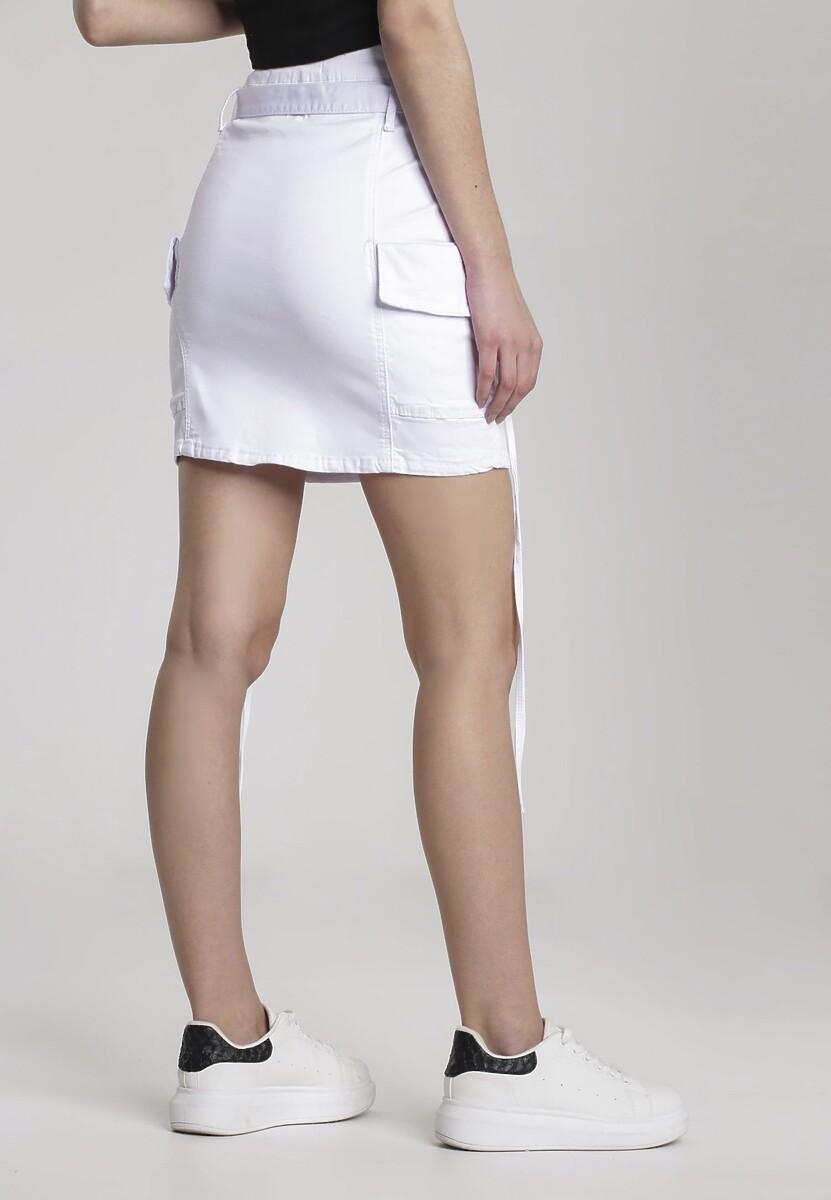 Biała Spódnica Lamelane