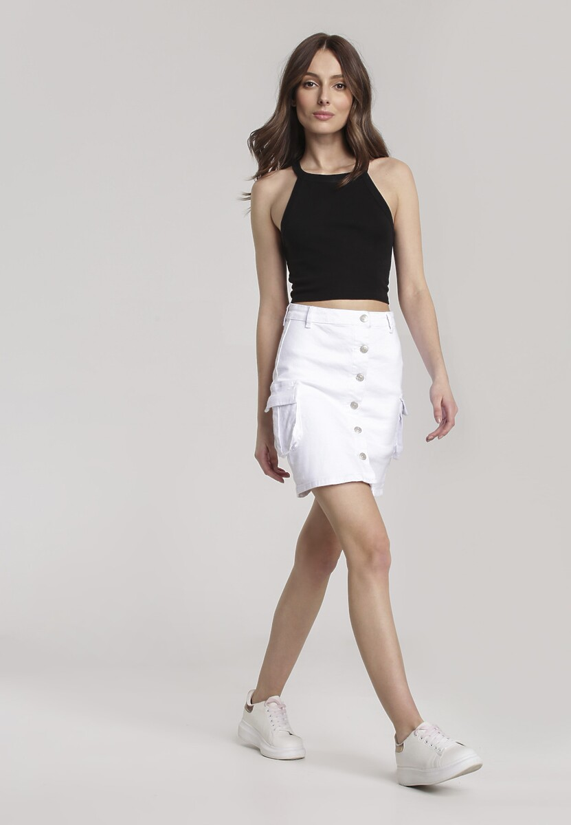 Biała Spódnica Adreanore