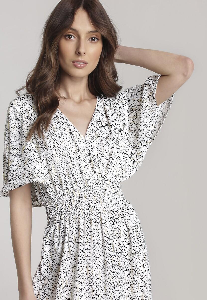 Biała Sukienka Aniniassi