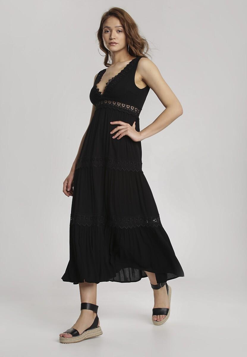 Czarna Sukienka Lorevia