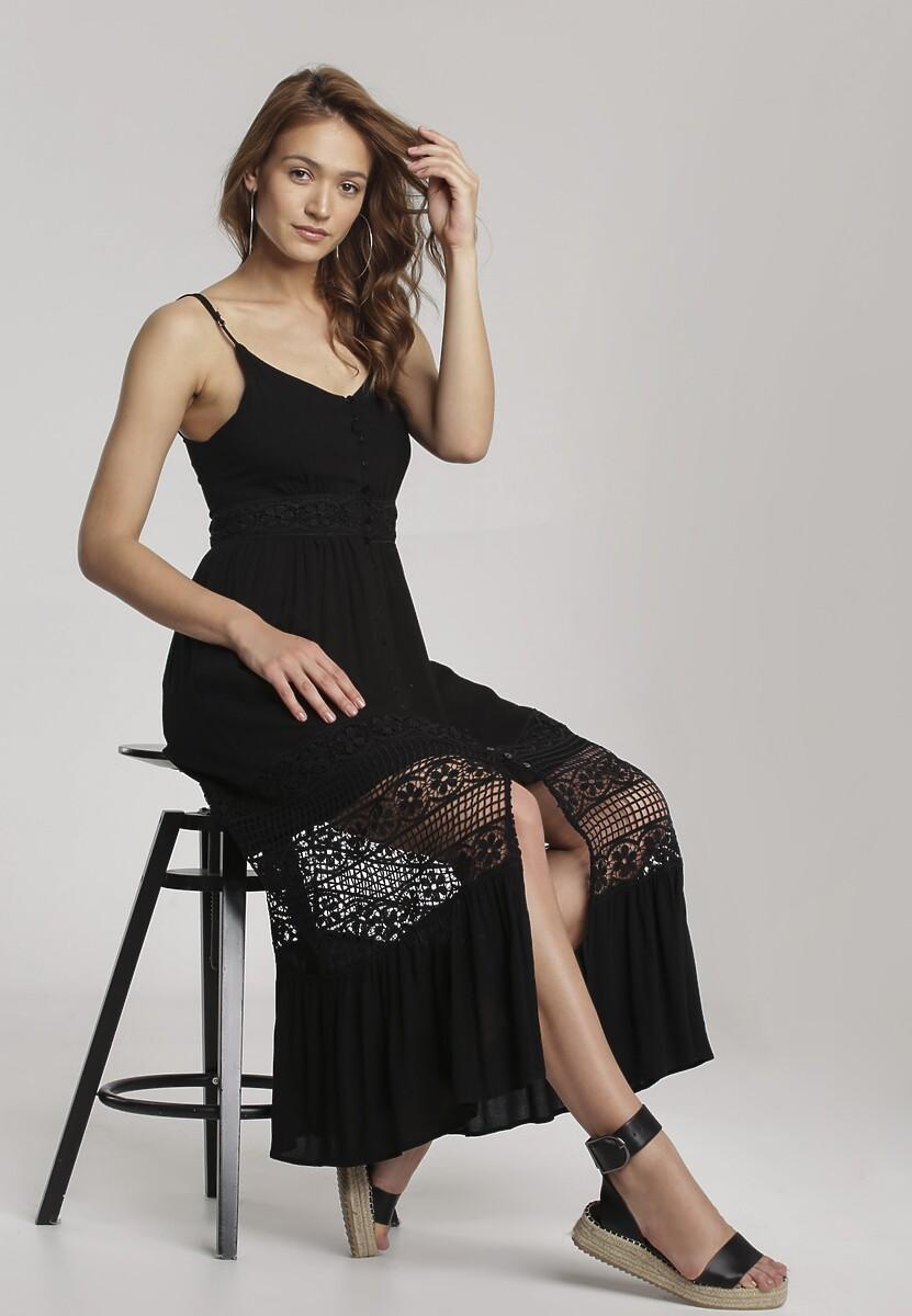 Czarna Sukienka Taniathise