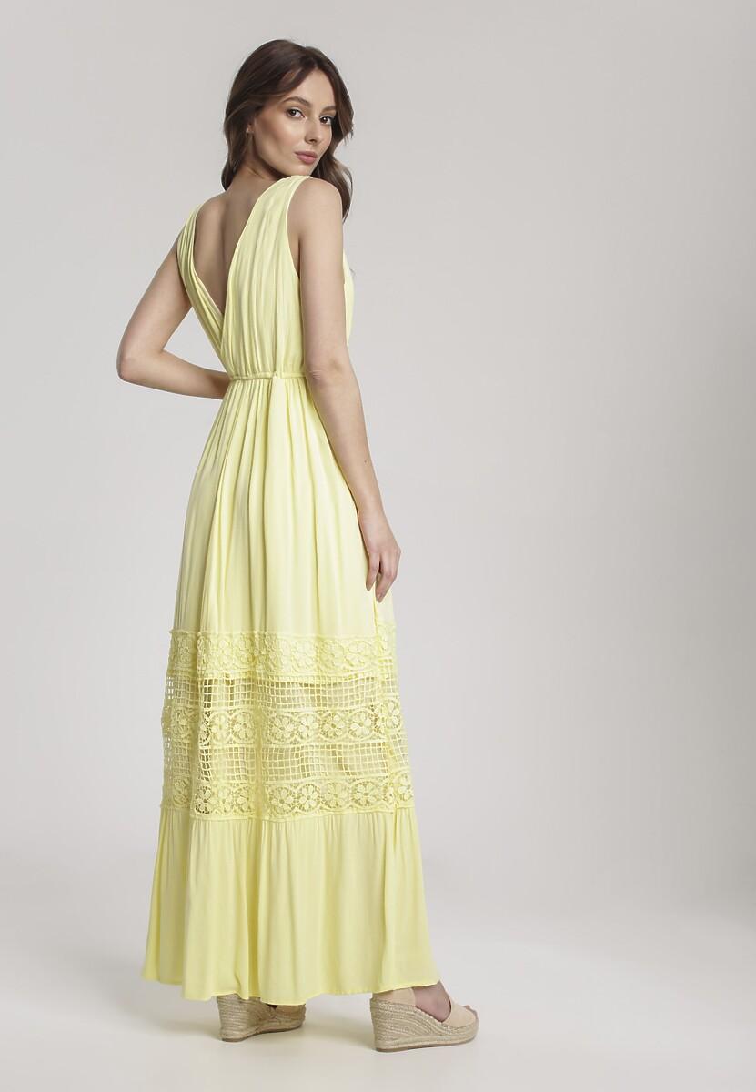 Żółta Sukienka Brira
