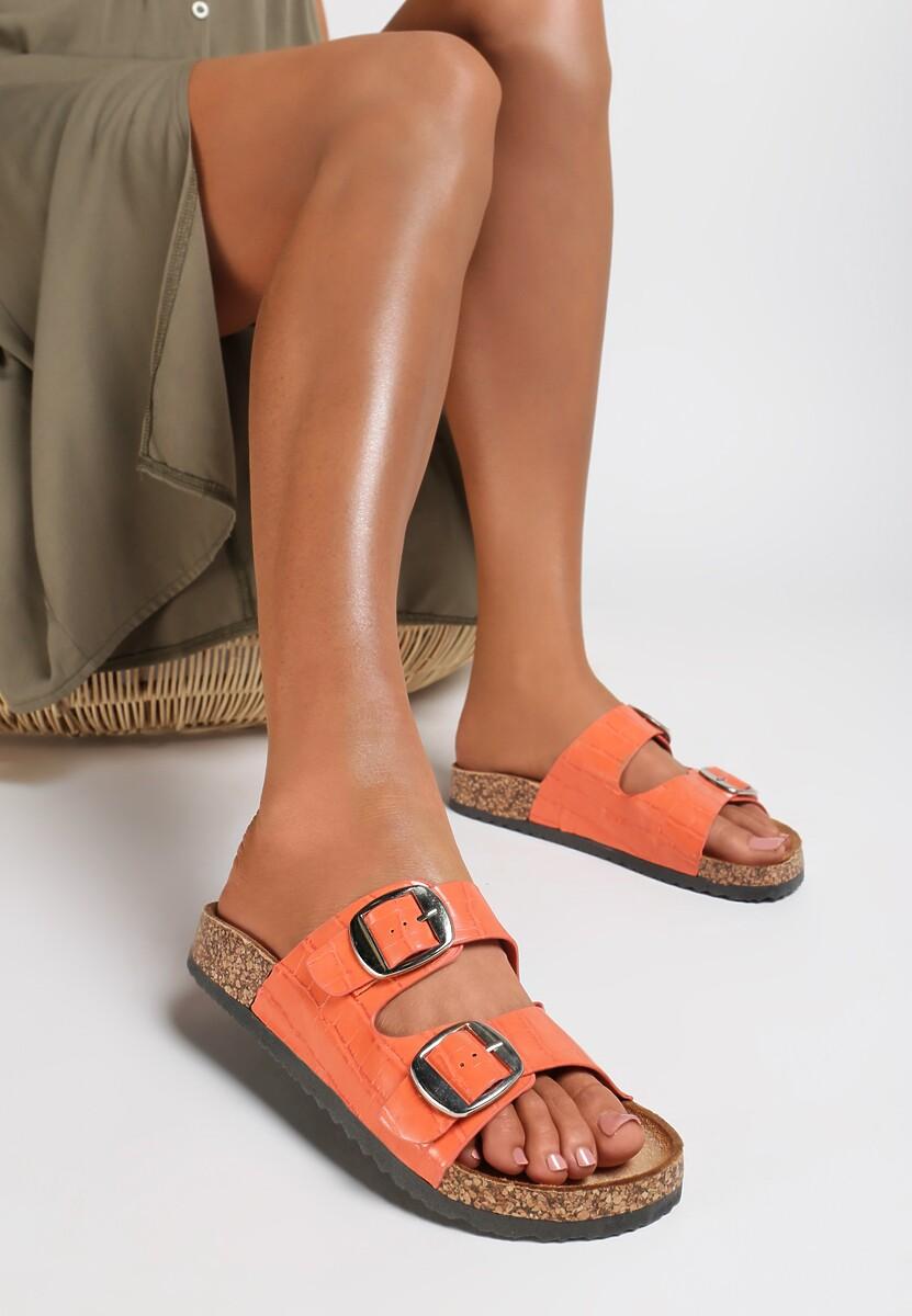 Pomarańczowe Klapki Aereria Kod produktu: 121206