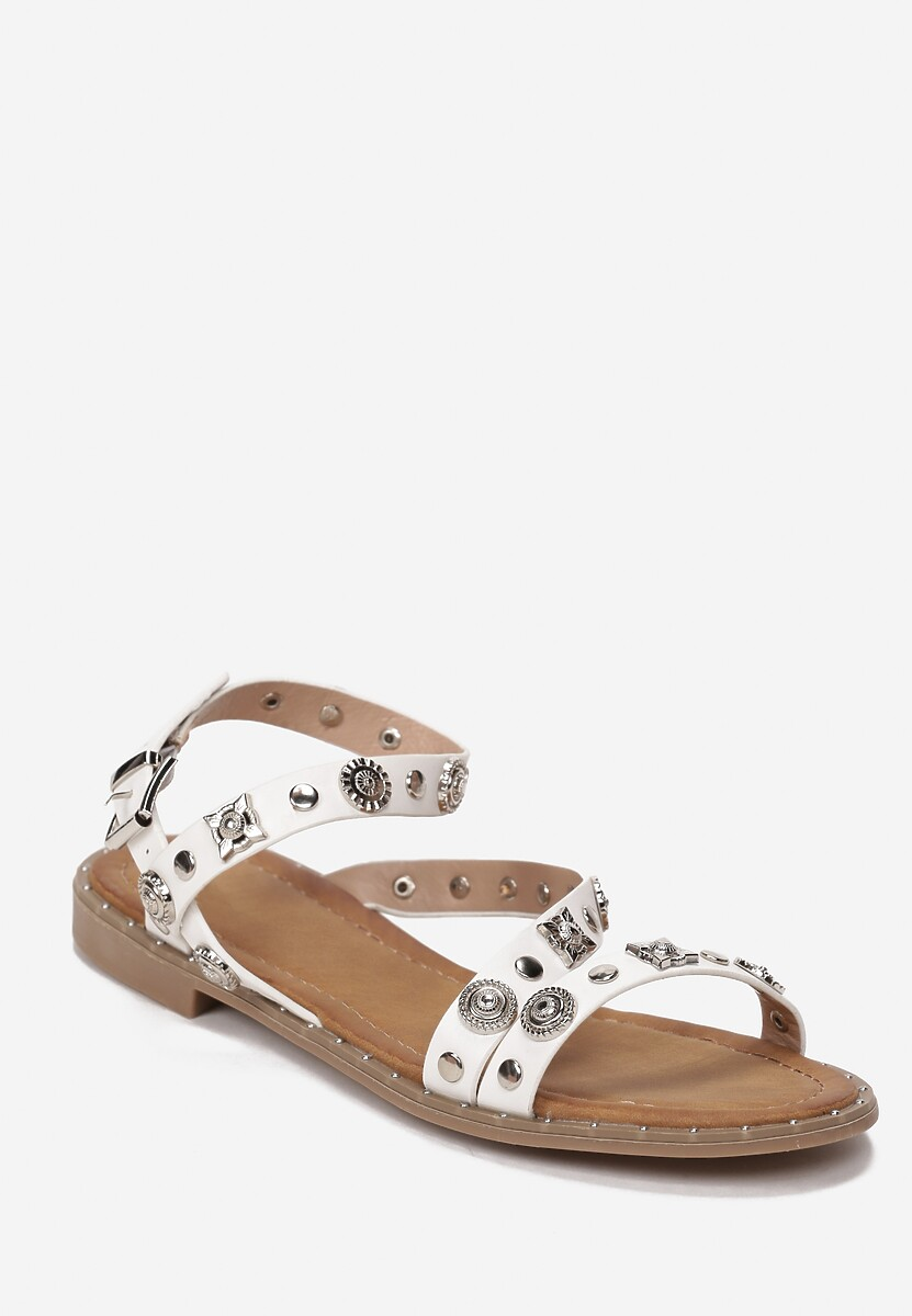 Białe Sandały Merema