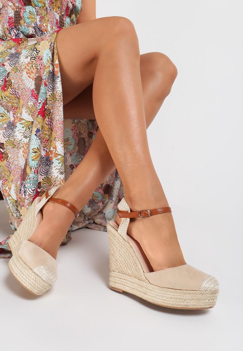 Beżowe Sandały Aegalea Kod produktu: 121192