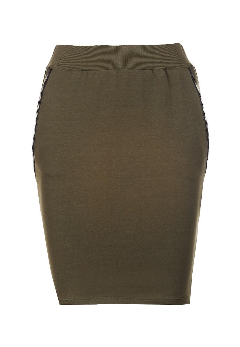 Khaki Spódnica Shelise
