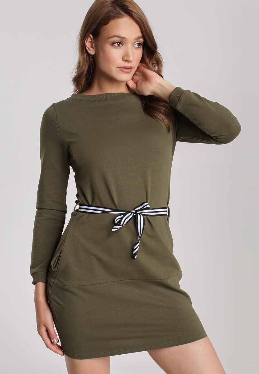 Khaki Sukienka Naumare