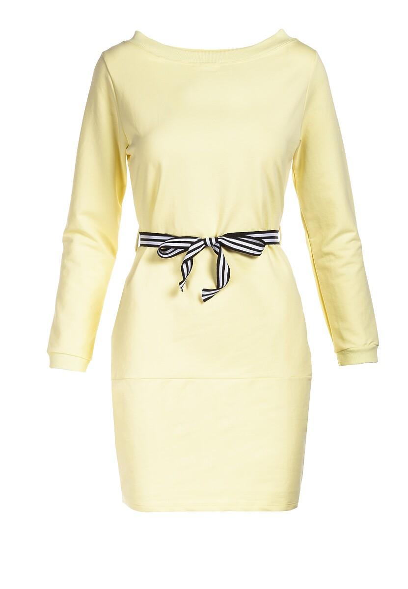 Żółta Sukienka Naumare