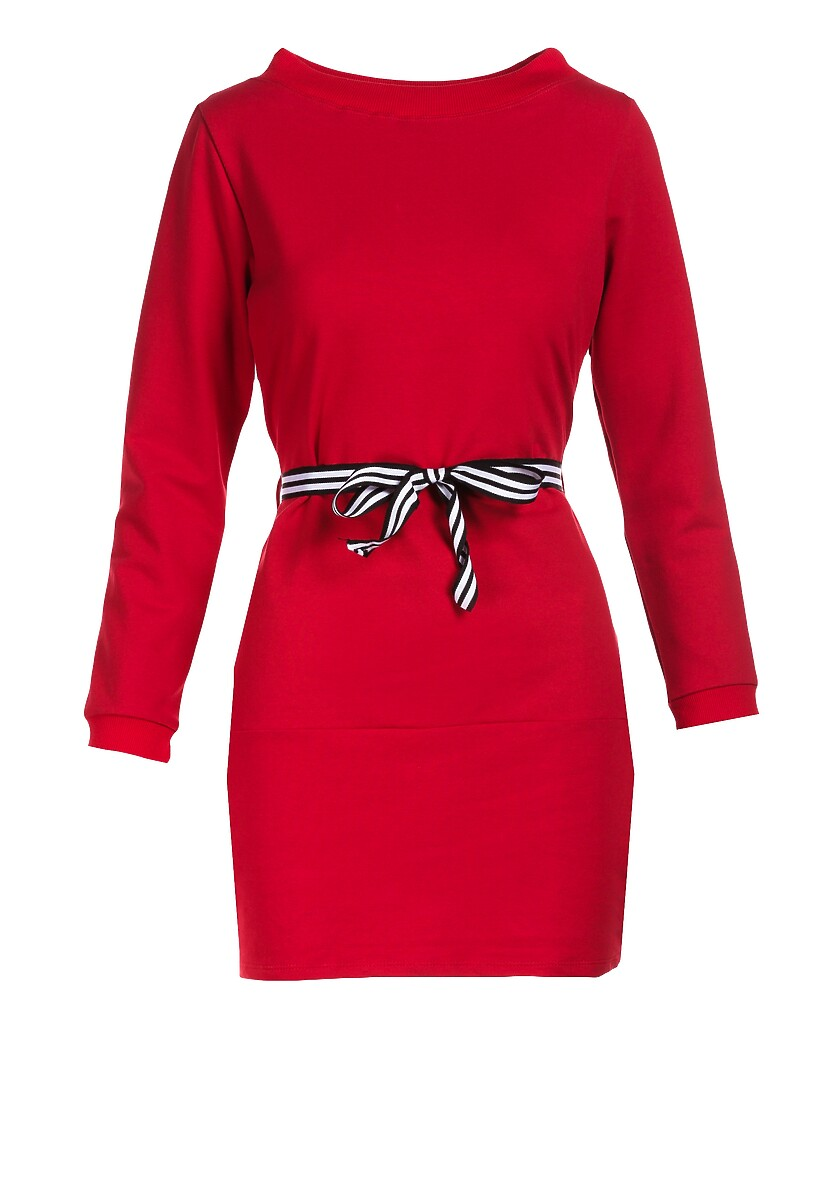 Czerwona Sukienka Naumare