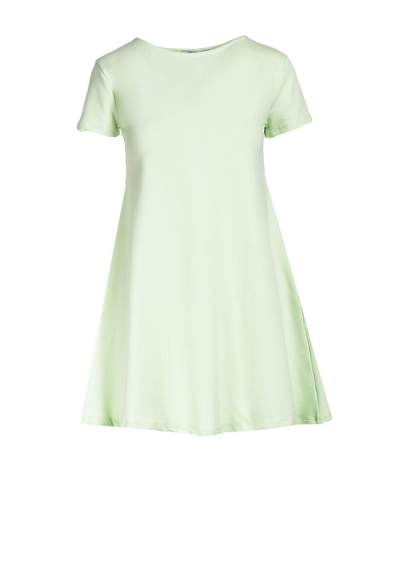 Limonkowa Sukienka Eiremere