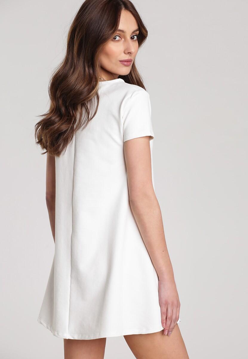 Kremowa Sukienka Eiremere