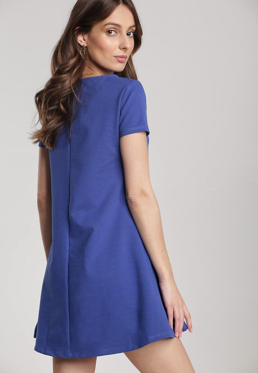 Ciemnoniebieska Sukienka Eiremere